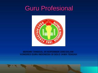 GURU PROFESIONAL.ppt