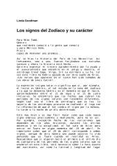 Goodman Linda - Los Signos del Zodíaco y su caracter.doc
