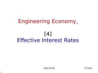 [4] Effective Interest Rates.ppt