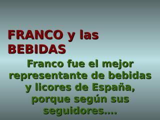 Franco_y_las_bebidas.ppt