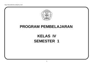 Promes Kelas 4.doc