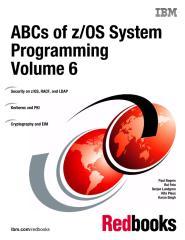 ABCs of zOS System Programming Volume 6.pdf