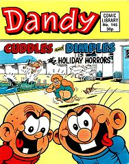 Dandy Comic Library 145 - Cuddles and Dimples - The Holiday Horrors.cbr